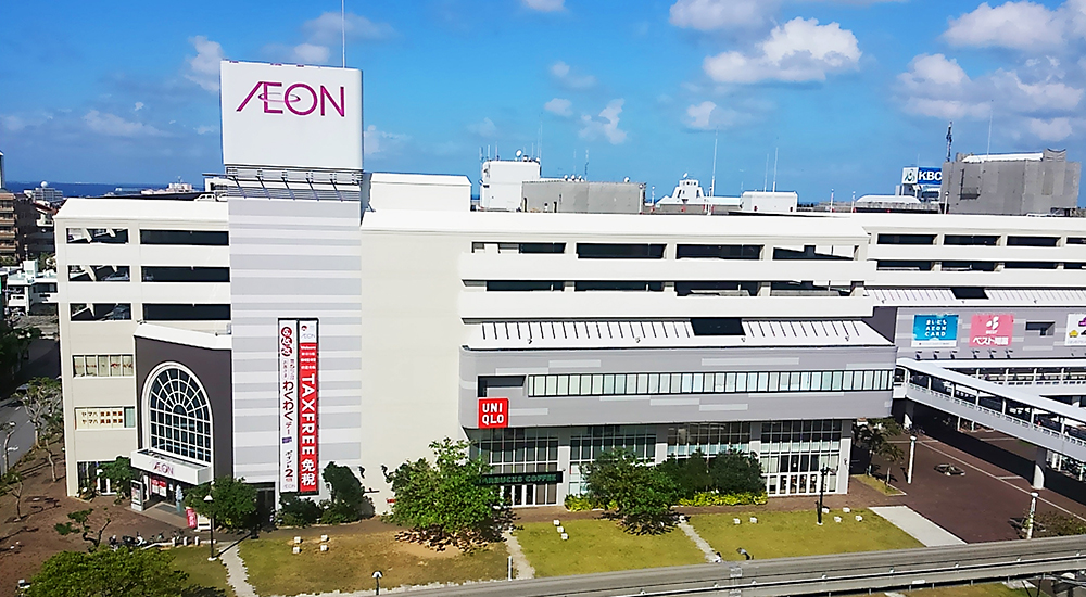 photo : AEON NAHA SHOPPING CENTER